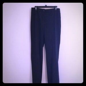 Jones New York Black straight pants size 8